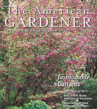 The American Gardener - January -February 2013