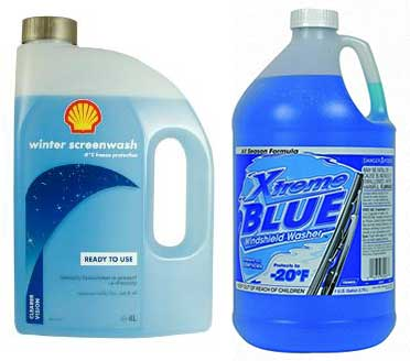 British screenwash is five times the price of American windshield washer