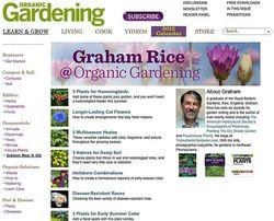 Graham Rice @ Organic Gardening