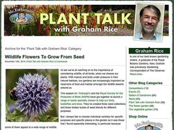 My Plant Talk blog for Mr. Fothergill's