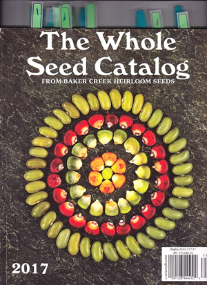 The Whole Seed Catalog for 2017 - with only the flowers tagged! Image ©GardenPhotos.com